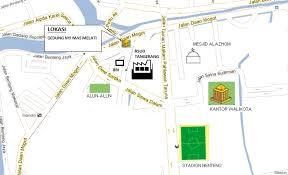 gambar denah lokasi
