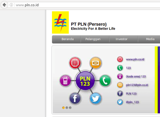 Contact Resmi PLN (Web-Call Center-Twitter-FB) Screenshot from 2016-08-06 18:35:52