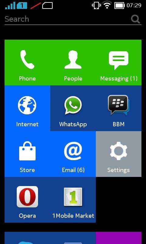 Install WhatsApp di Nokia X