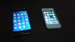Android Galaxy Core 2 & Iphone 4s
