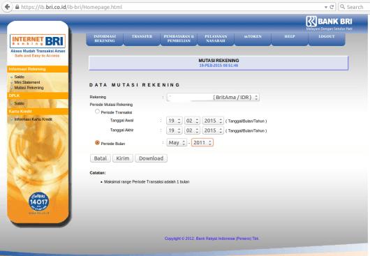 Rekening Koran BRI (Internet Banking) Screenshot from 2015-02-19 08:52:09