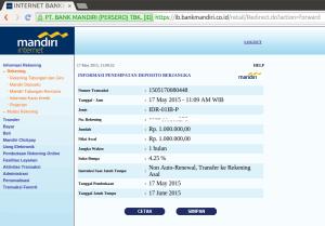 08 Buka Deposito melalui Internet Banking - Informasi Rekening