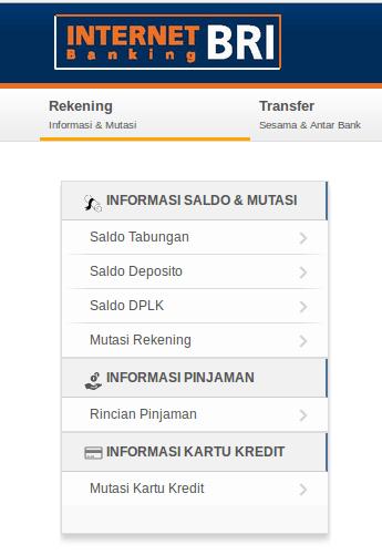 Informasi Pinjaman Internet Banking BRI