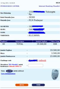 4 Cara Beli Pulsa PLN Prabayar melalui Internet Banking Mandiri