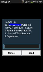 ussd code mentari cek nomor hp sendiri