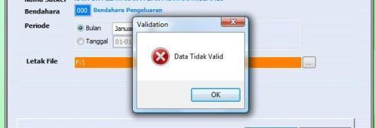 SAS 16.0.3 DATA TIDAK VALID
