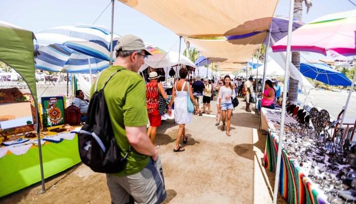 Farmer's Market, market, barcos, mar, Nuevo Vallarta