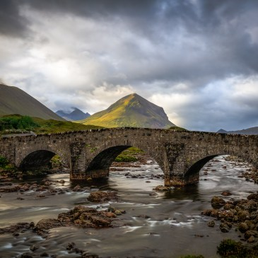 Bridge at Sligachan, Skye, Scotland