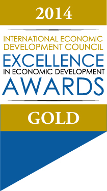 2014 IEDC Awards Ribbon gold