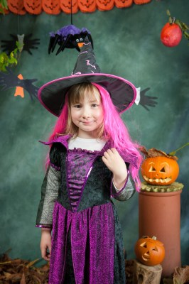 Childrens Pics at Halloween