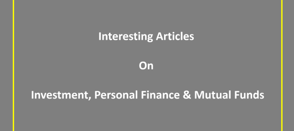 Interesting article investment personal finance mutual funds links