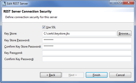 REST Connection Security