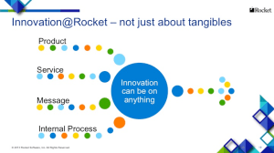 Innovation Slide