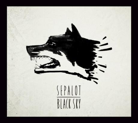 Pochette de l'album Black Sky de Sepalot