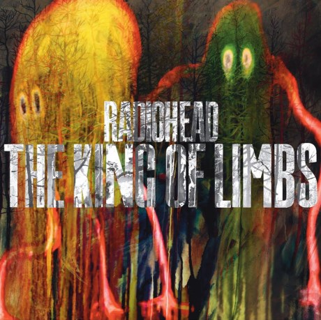 Pochette de l'album The King of Limbs du groupe Radiohead