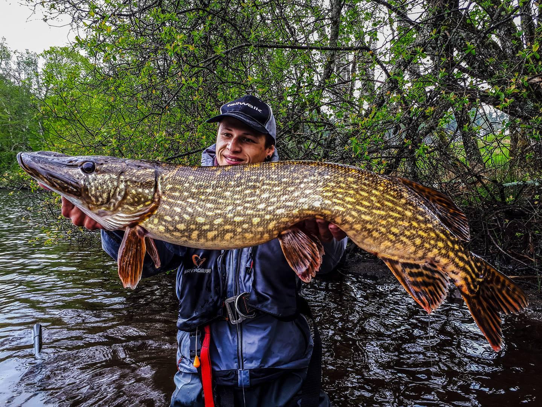 Anthony Manson-Caron, guide de pêche