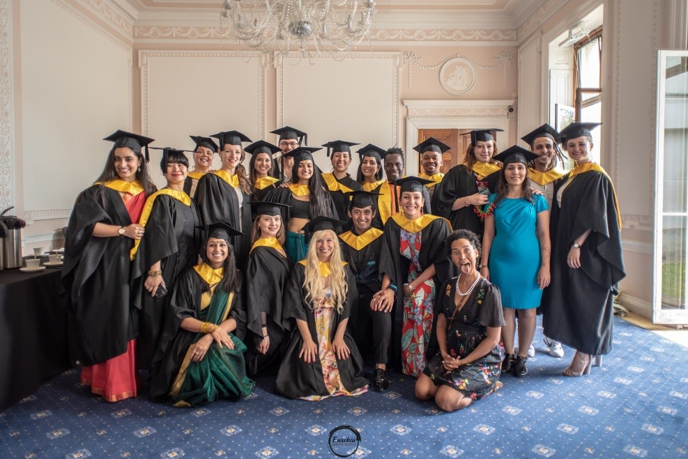 Students in the Adam Room, Grove House