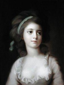 Moloda Countess Sophie Potocka by Kucharsky