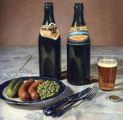Изобилие давно минувших лет: пиво с гарниром