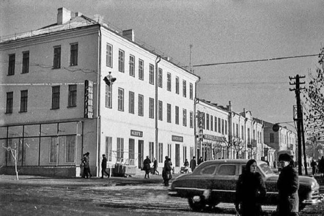Каменец-Подольский. Вид на улицу Котовского. 60-е - 70-е  годы прошлого века