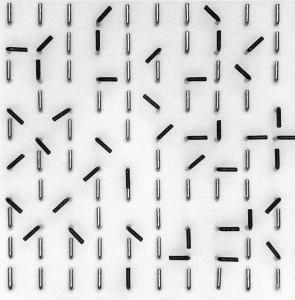 Крючки при помощи которых создавались композиции (1964) Вольфганг Вайнгард. Дизайн новой волны Вольфганг Вайнгард. Начало конца классической типографики              wolfgang weingart
