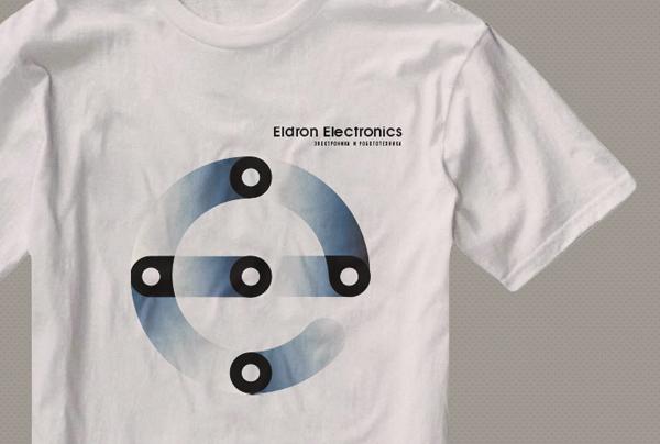 Eldron Electronics, фирменный стиль, майка