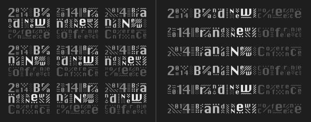 bnconf_2014_identity_logo_variations Фирменный стиль Чикагской конференции по корпоративной идентичности. Фирменный стиль Чикагской конференции по корпоративной идентичности. bnconf 2014 identity logo variations