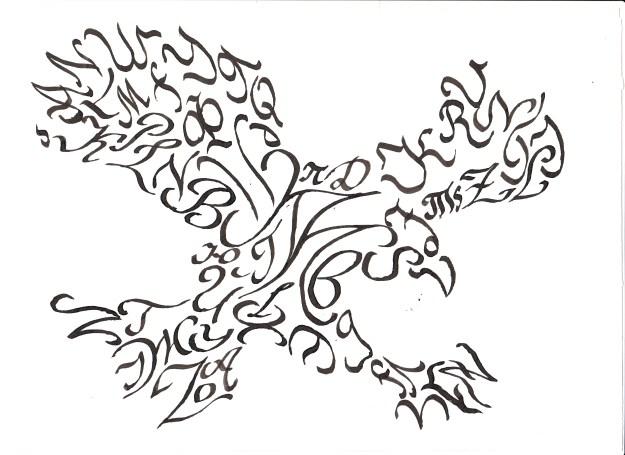 1111 (7) Итоговое задание по классической каллиграфии, 11 поток школы дизайна Итоговое задание по классической каллиграфии, 11 поток школы дизайна 1111 7