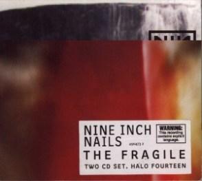 Дизайн CD группы NIN, 1999