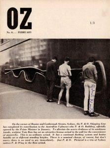 Один из первых номеров OZ