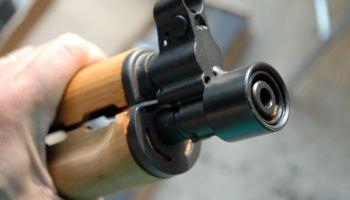 How to remove the Zastava M92 PAP Pistol's Factory Thread