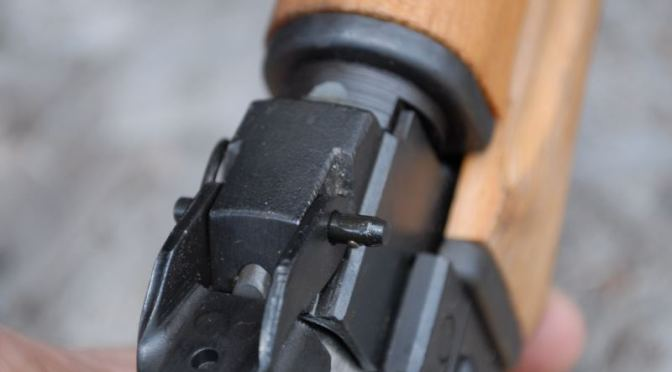 How to Install a Yugo M85 or M92 Dust Cover Quick Takedown Pin from Ronin's Grips
