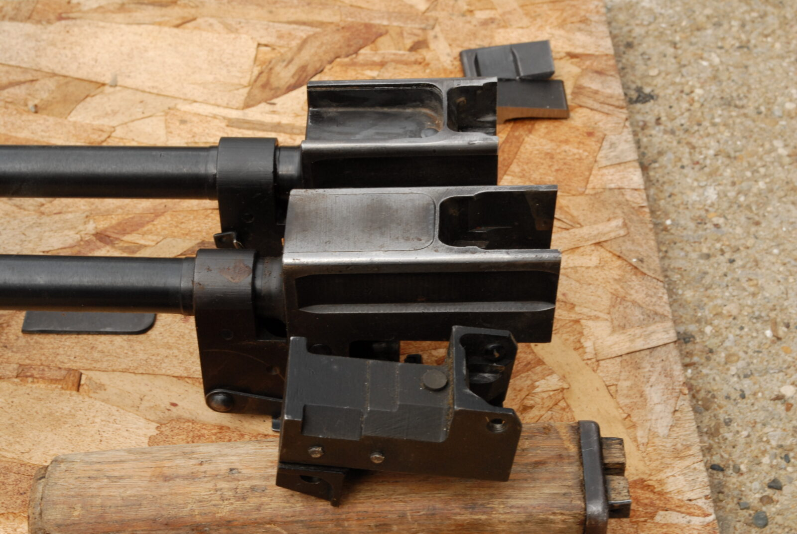 Converting a milled M70 receiver stub to a stamped receiver front