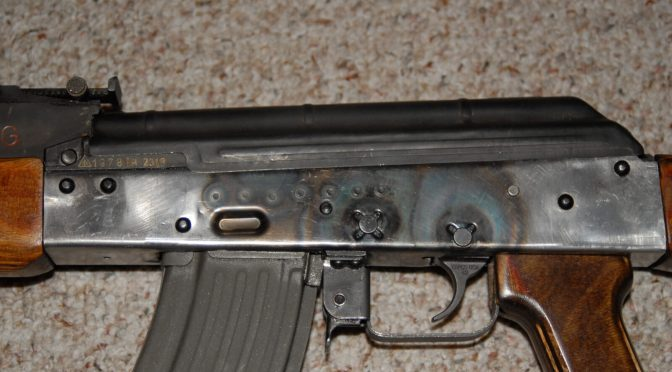 How to Install a Flat's Lower Receiver Rails So They Align With The Front Trunnion
