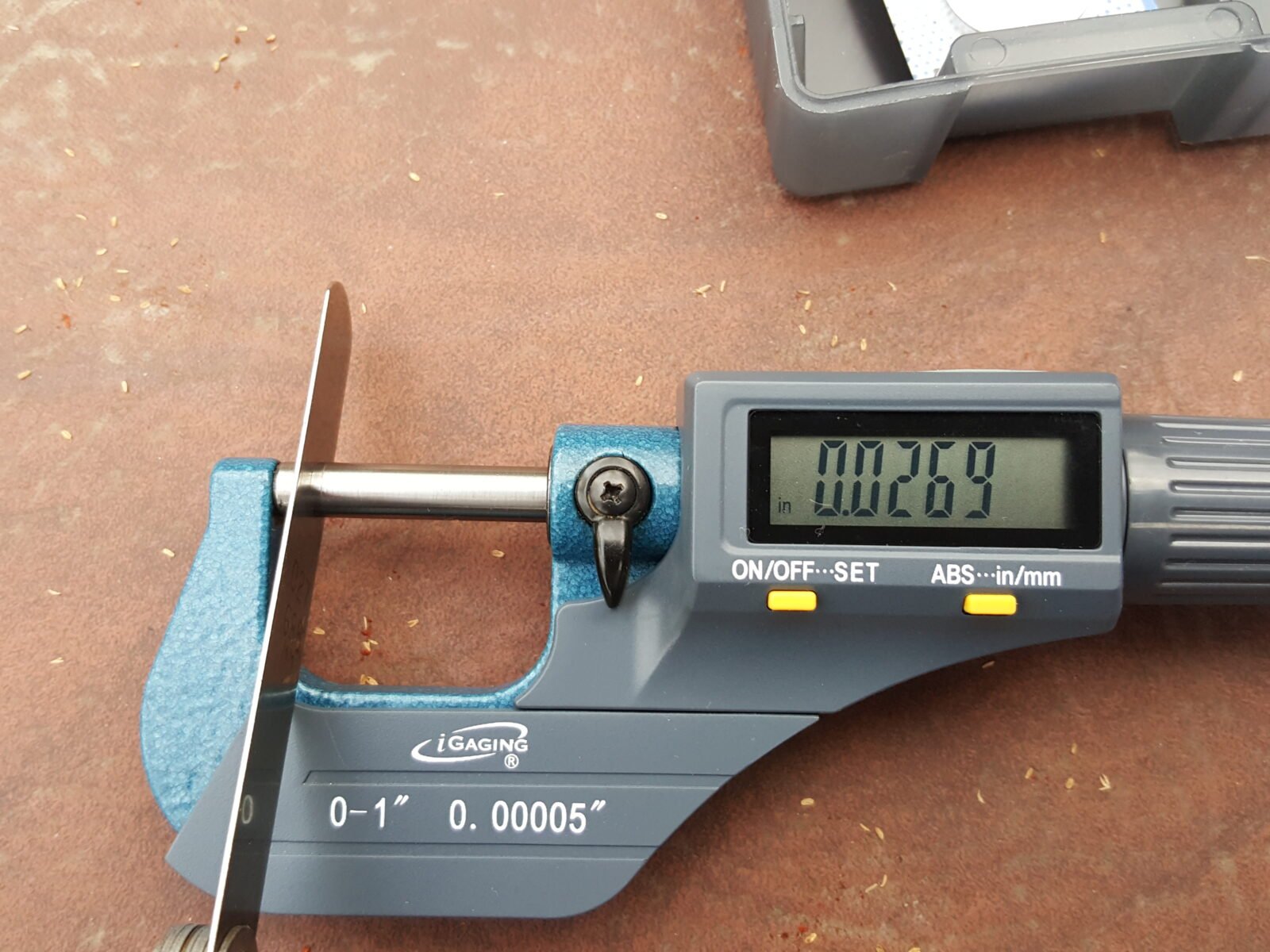 You Use A Feeler Gauge To Set The Gapthese Can Be Bought At Any
