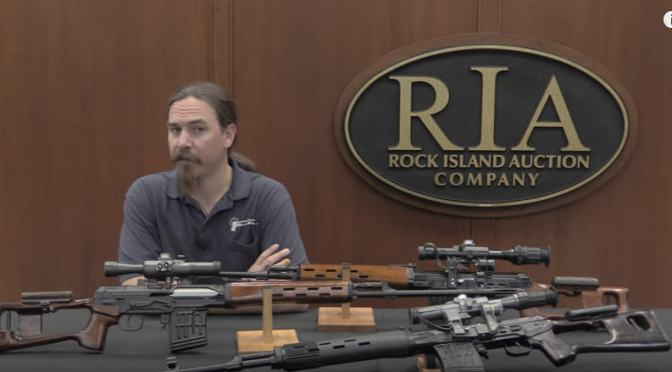 Video:  Dragunov Variations:  Military SVD, Izhmash Tiger, Chinese NDM-86 by Forgotten Weapons – this is AWESOME!!  May 6th RIA Auction