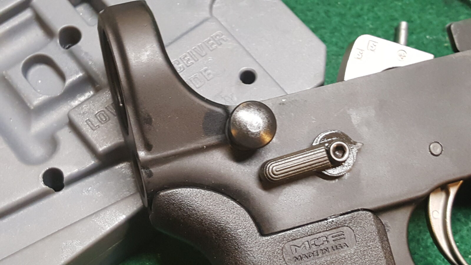 Assembling an AR Lower - Step 9 of 11: Installing the Buffer Tube
