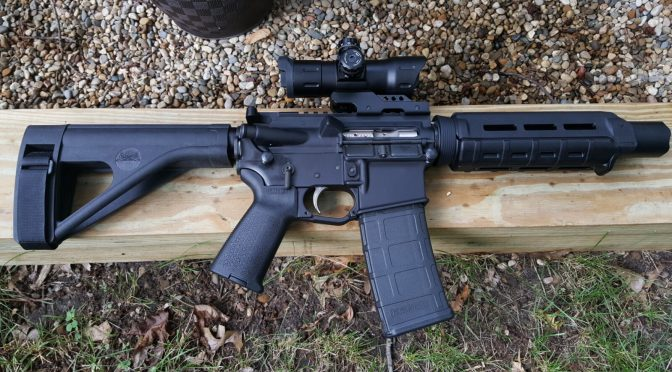 Assembling an AR Lower – Step 2 of 11:  Installing the Trigger Guard Assembly