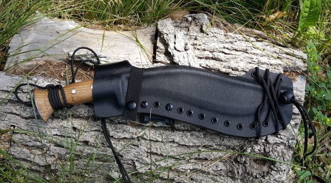 How To Make a Kydex Cross Draw Khukuri Sheath