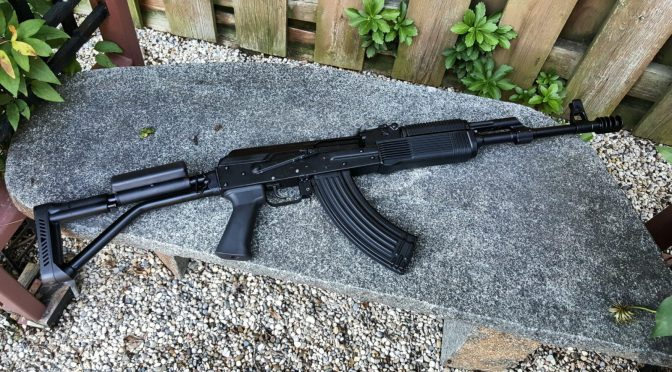 Finally got a Russian Vepr 7.62x39mm Side Folder – The FM-AK47-21