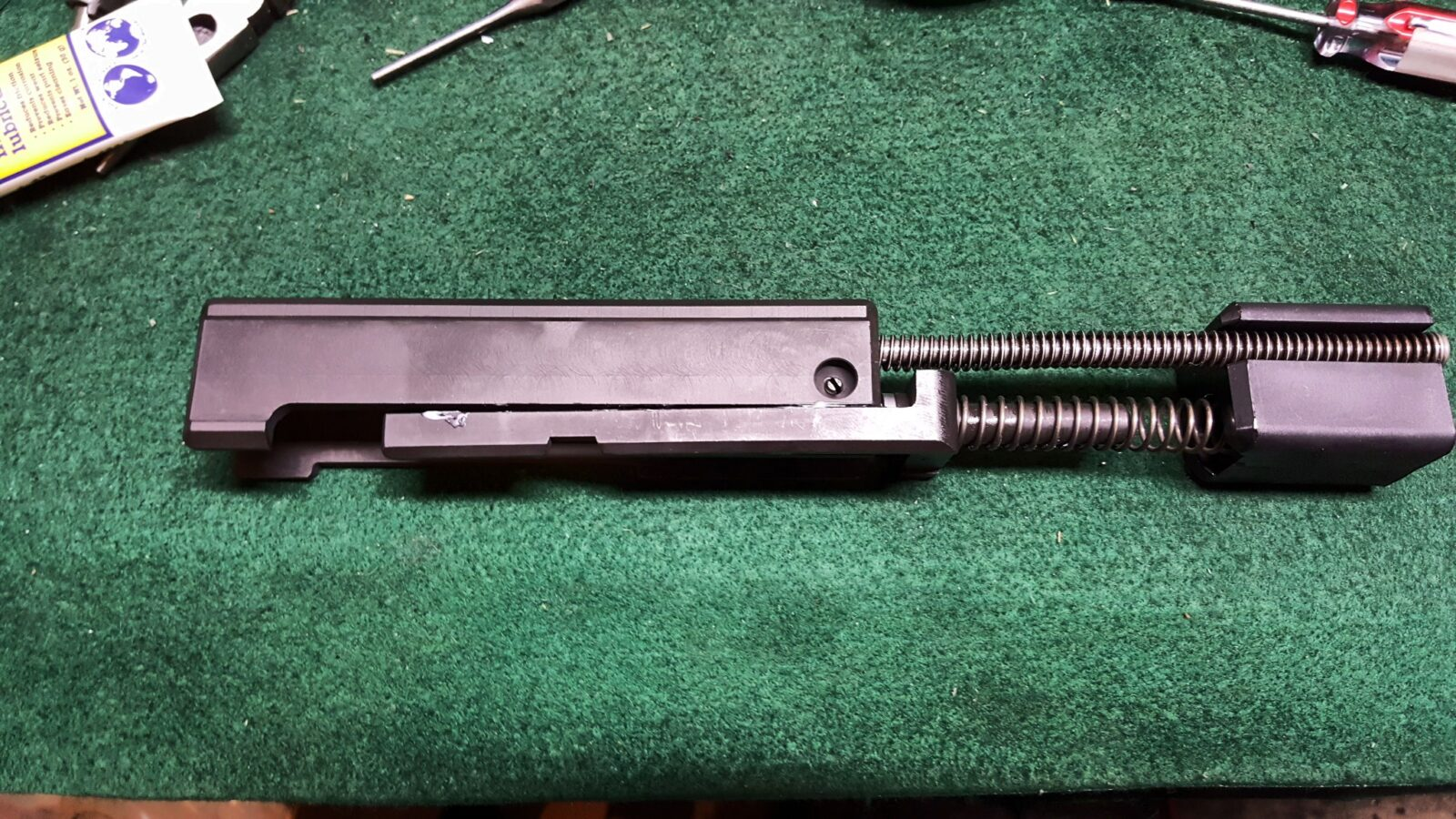 Uzi Part 7 of 7: The Bolt and Final Assembly of the Semi