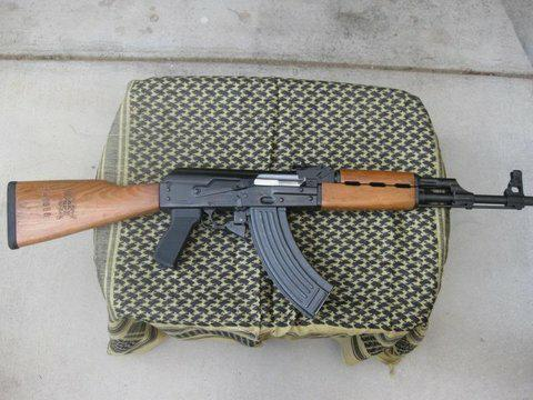 Zastava O-PAP Rifle With One of Our Yugo M70 Grips