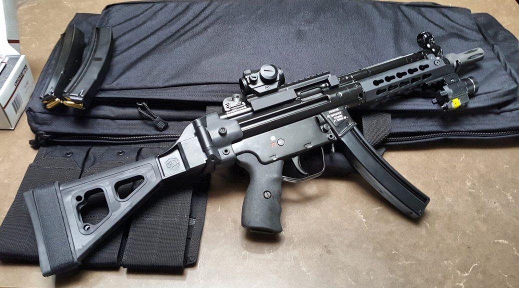 Brace Options for the HK SP5K - Ronin's Grips