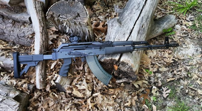 Assembling A Beryl-ish AK From A WBP Kit – Part 8 – Installing the Furniture, Muzzle Brake, Red Dot Optic and Test Firing