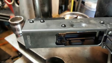 Assembling a Beryl-ish AK From a WBP Kit - Part 5 - Riveting