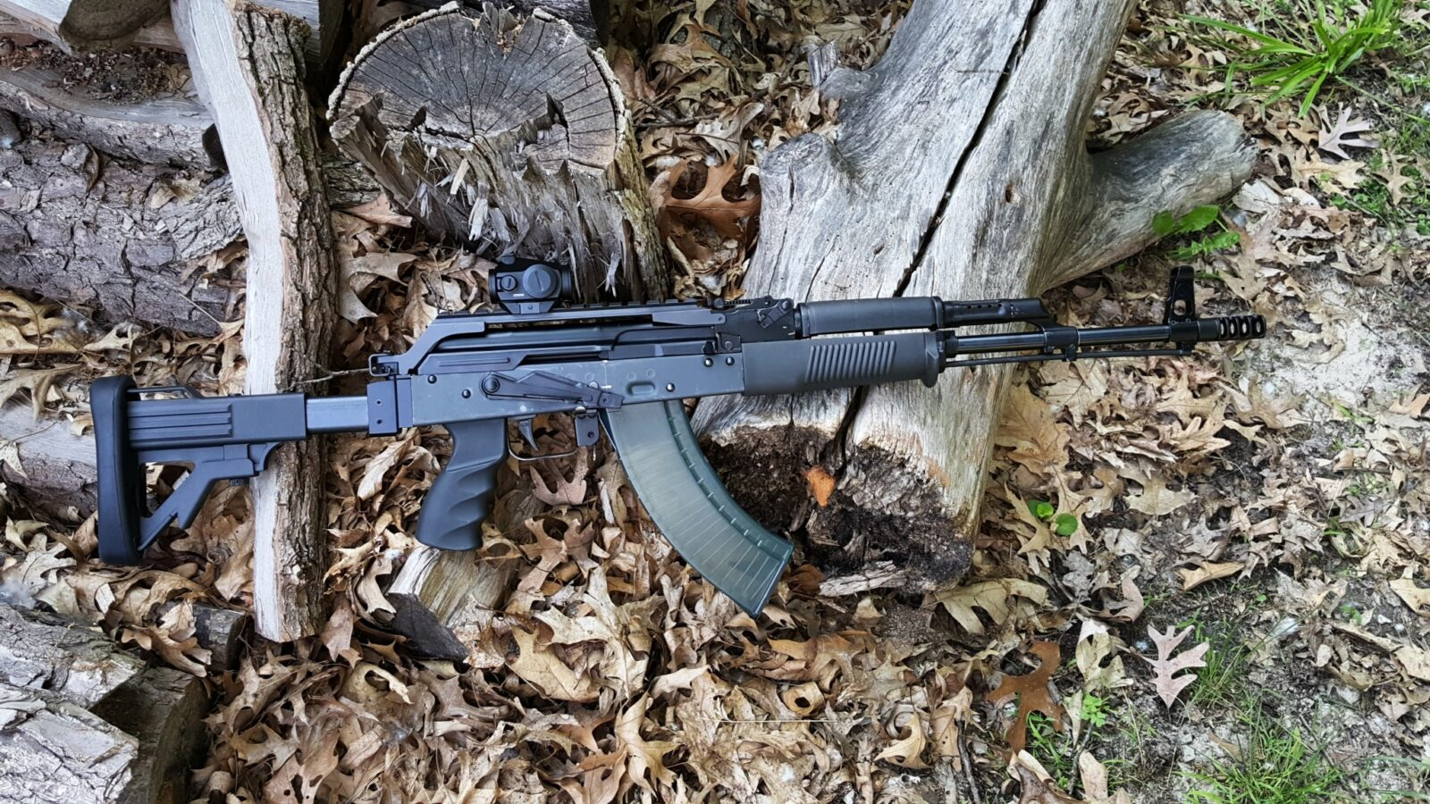 AK47 Hooded Sweat Shirt ~ 2nd Amendment Hoodie ~ Rifle Gun Rights AK-47