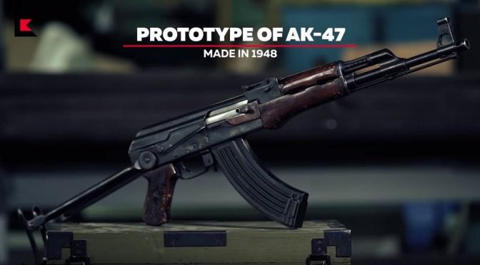 Prototype AK-47 Underfolder Circa 1948