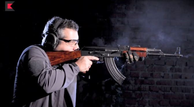 Kalashnikov Concern's Own Video About Early AK Variants