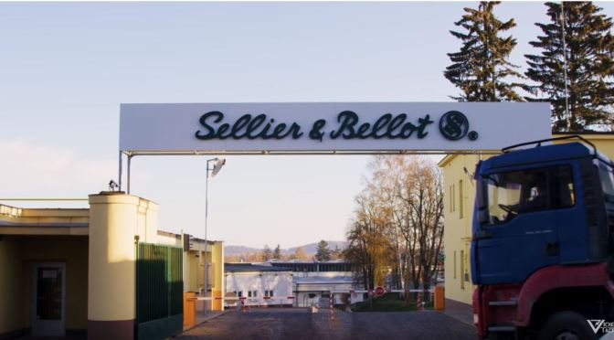 Larry Vickers Tours the Sellier & Bellot Ammunition Factory