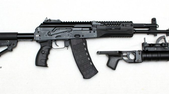 Really Cool Russian Page With A Detailed Breakdown of the 5.45mm AK-12 Rifle